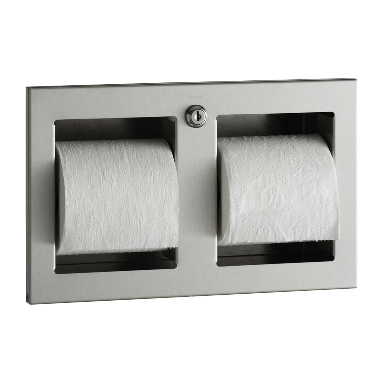 Peachy Recessed Multi Roll Toilet Tissue Dispenser Samrick Spiritservingveterans Wood Chair Design Ideas Spiritservingveteransorg