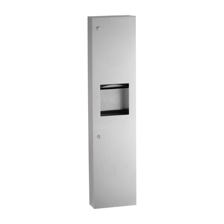 Magnificent Surface Mounted Paper Towel Dispenser And Waste Bin Samrick Spiritservingveterans Wood Chair Design Ideas Spiritservingveteransorg